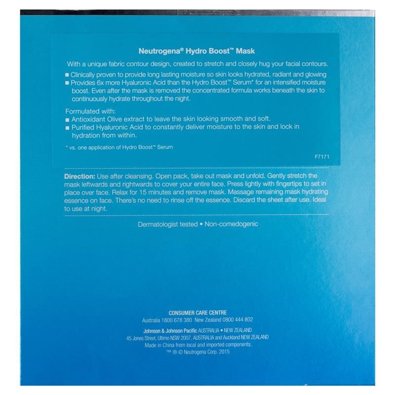 Neutrogena Hydro Boost Mask 5 Piece