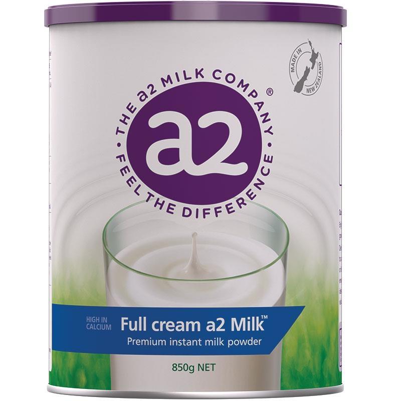 A2 Milk Full Cream Instant Milk Powder 850g Online Only