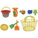 Toy 2020 Beach Basket Set 8 Piece