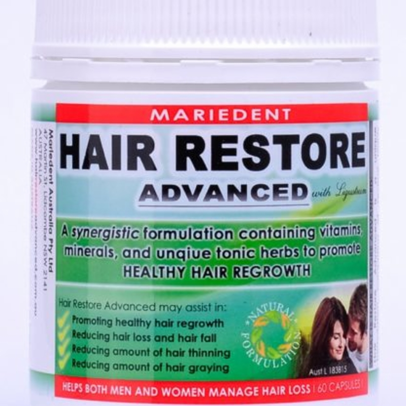 Mariedent Hair Restore Advanced 60 Caps