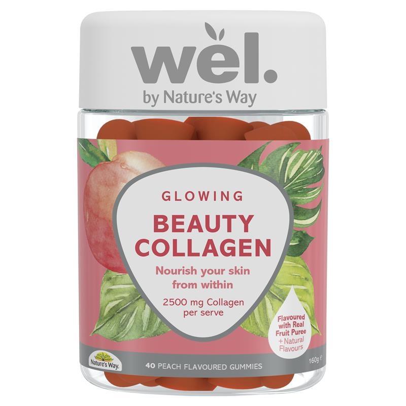 Kẹo dẻo collagen Natures Way Wel. Beauty Gummies 40 Gummies
