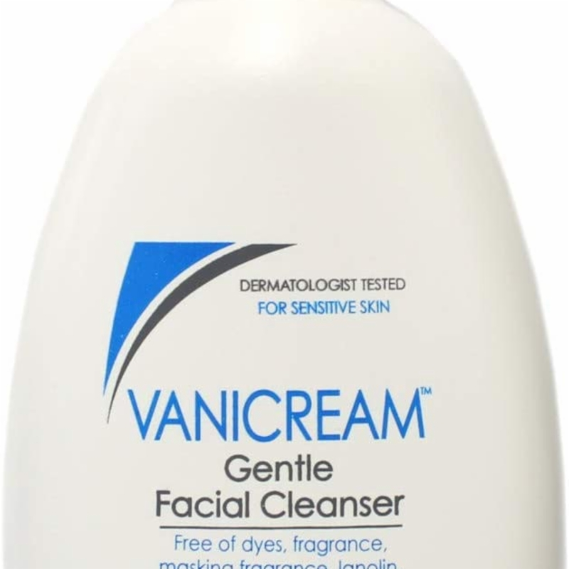Sữa rửa mặt dành cho da nhạy cảm Vanicream Gentle Facial Cleanser for sensitive Skin with Pump Dispenser FULL SIZE-8oz