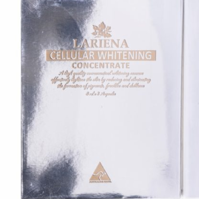 Lariena Cellular Whitening Concentrate 3x8ml Bottles Box