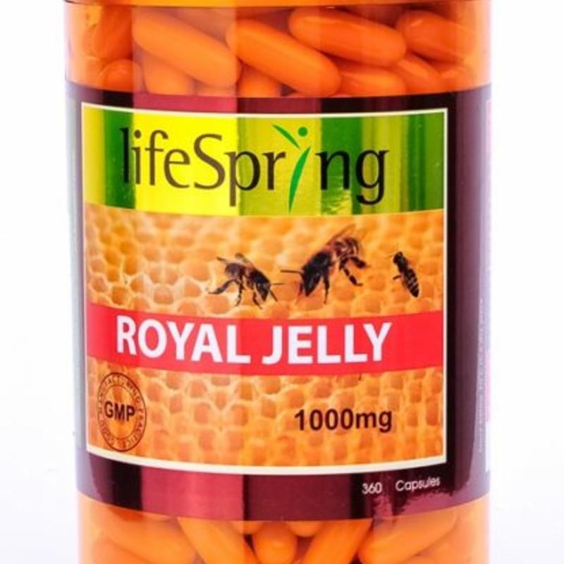 Life Spring Royal Jelly 1000mg 360 Caps