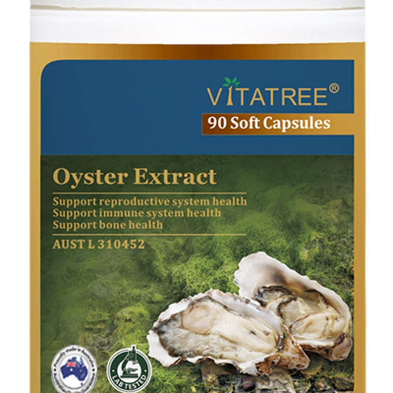 Vitatree Oyster Extract 90 Capsules