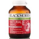 Blackmore Natural E 1000IU 30 capsules