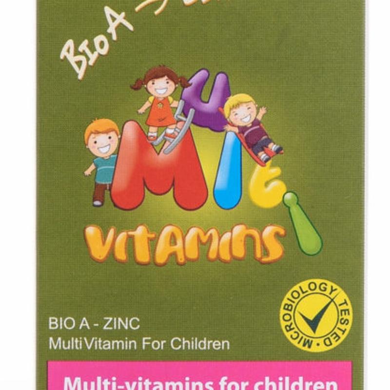 Wealth Health Bio A- Zinc Multi Vitamin for Children