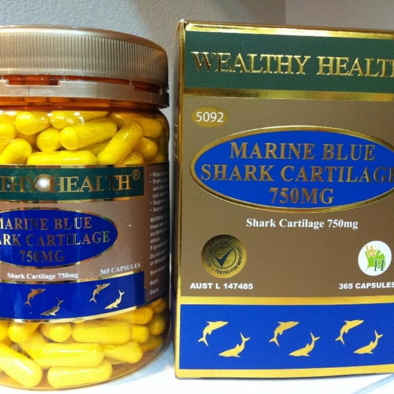 Marine Blue Shark Cartilage 750mg