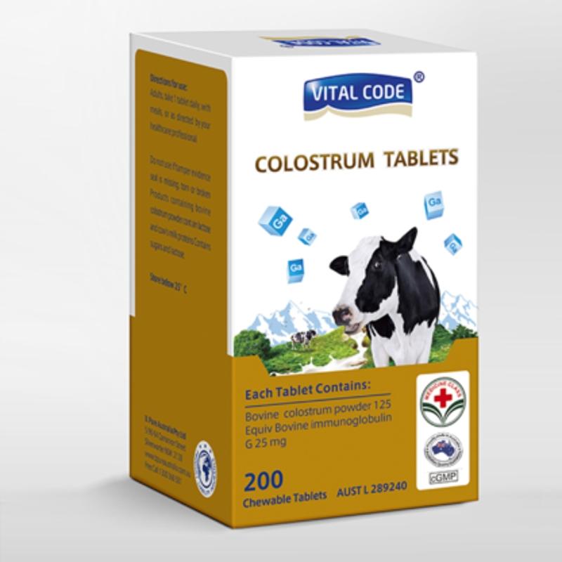 Colostrum Tablets 200 tablets