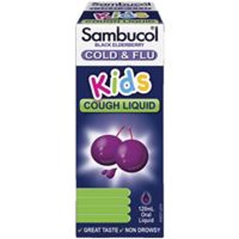 Sambucol Kids Cough Liquid 120ml