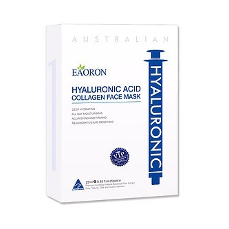 EAORON Hyaluronic Acid Collagen Face Mask 5pc