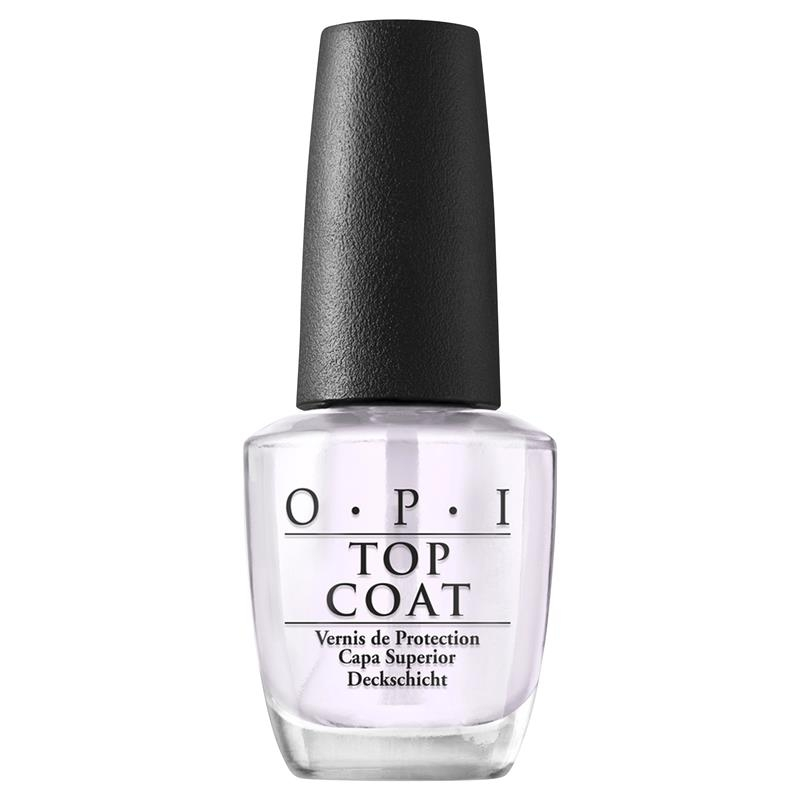 OPI Nail Lacquer Top Coat 15ml Online Only