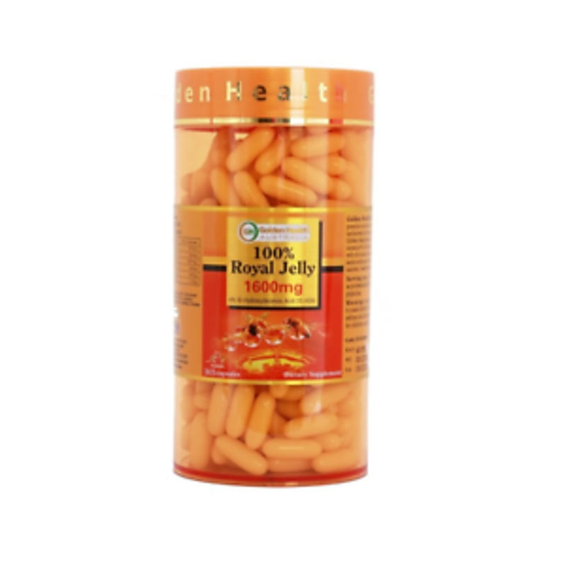 Sữa ong chúa Golden Health Royal Jelly 1600mg 365 capsules