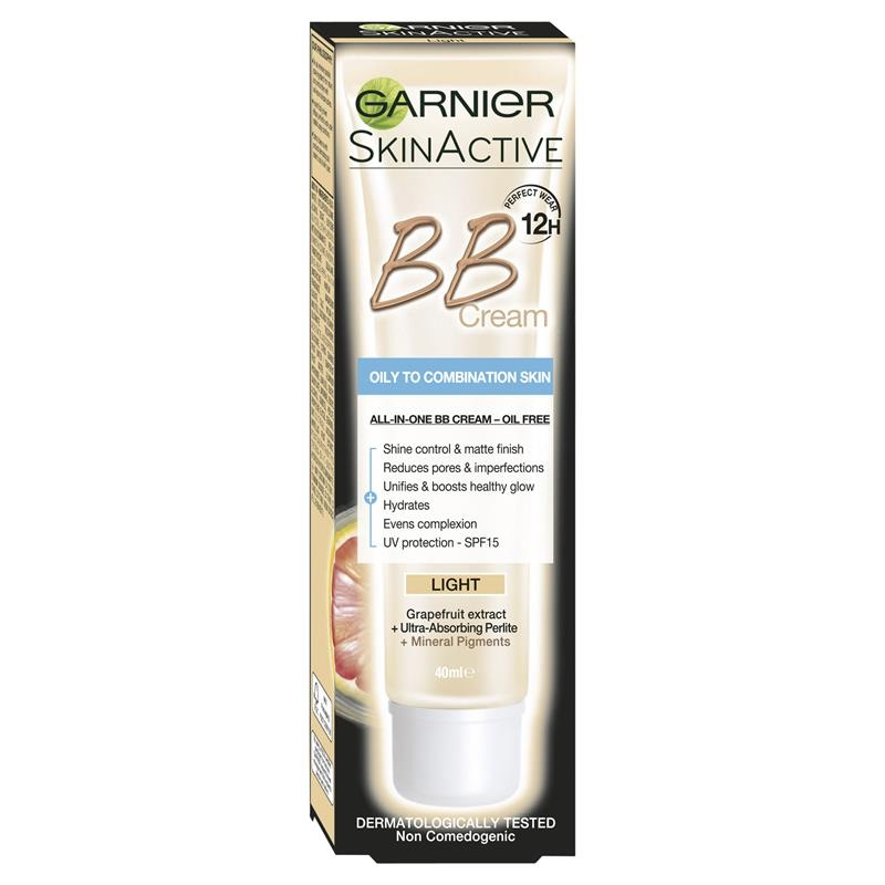 Garnier Youthful Radiance Miracle Skin Perfector BB Cream Oil Free Light 40ml