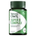 Nature's Own Super B Complex - Vitamin B - 75 Tablets