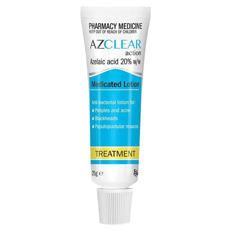 Azclear Medicated Lotion 25G - Pimples & Acne