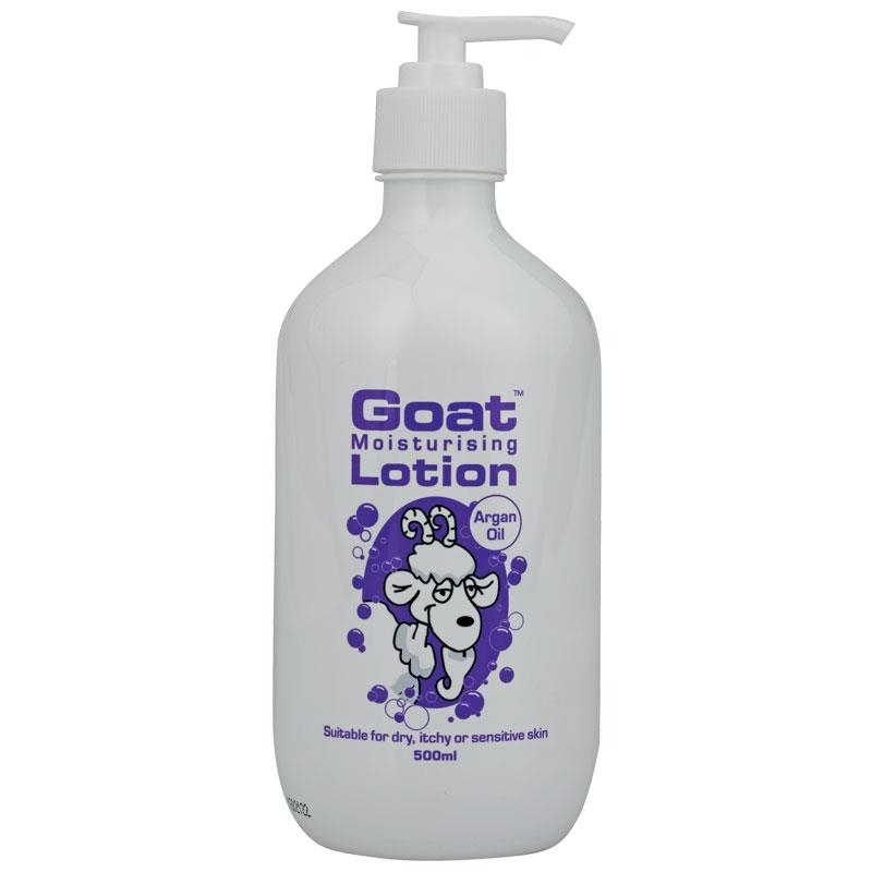 Goat Lotion with Argan Oil 500ml