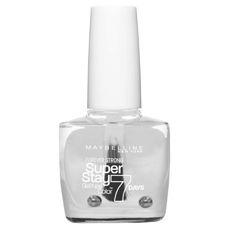 Maybelline Superstay 7 Day Nails - Crystal Clear 25