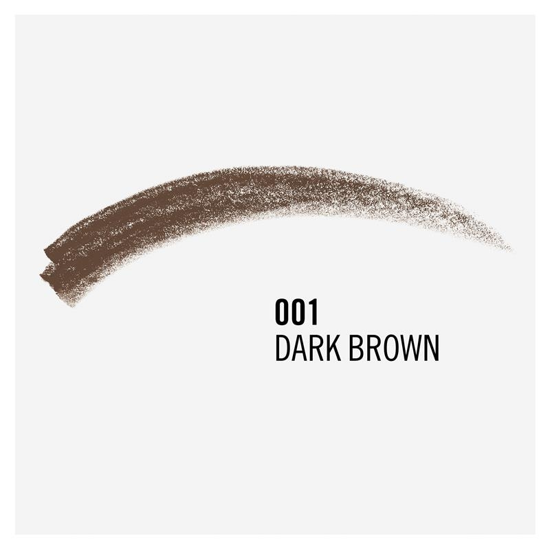 Rimmel Brow This Way Professional Pencil 001 Dark Brown