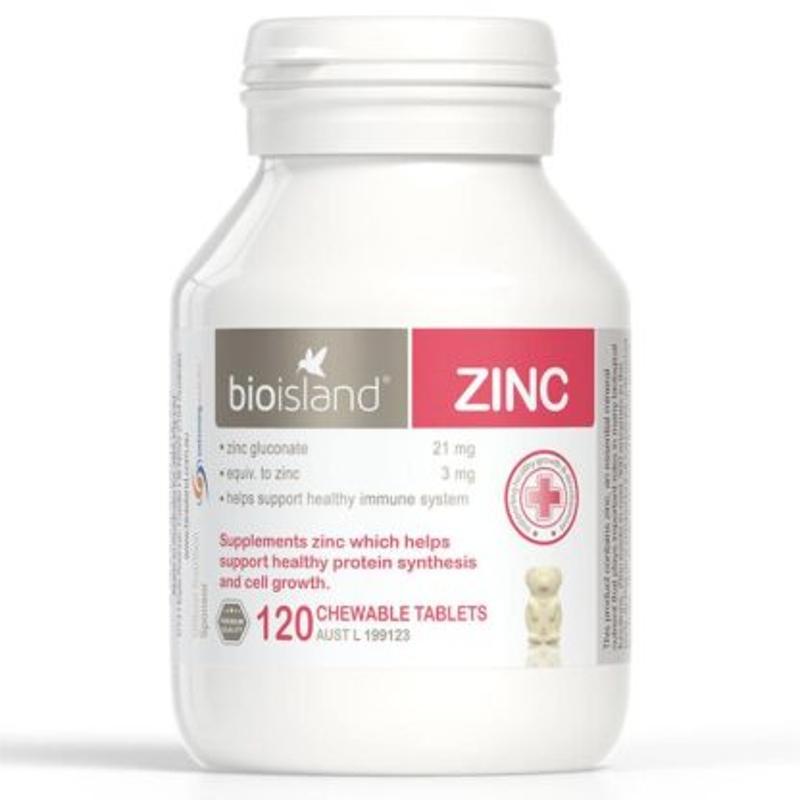 Bio island ZINC 120 tablets
