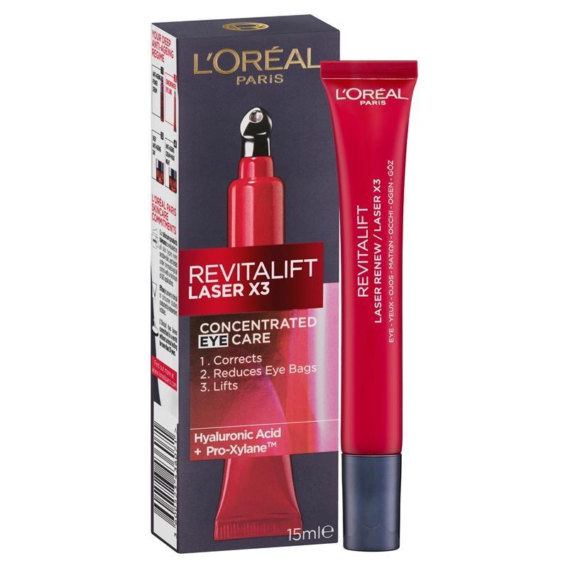 L'Oreal Paris Revitalift Laser Eye Cream 15ml