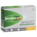 Berocca Sport B Vitamins & Electrolytes Orange Flavour 14 Powder Sachets