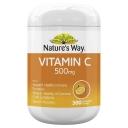 Nature's Way Vitamin C 500mg 300 Tablets