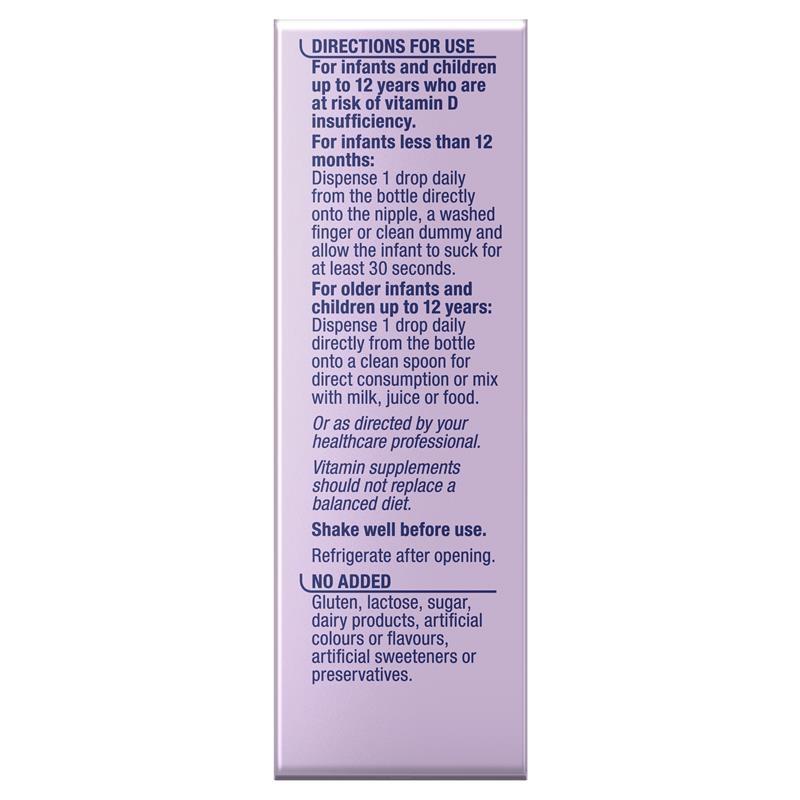 Ostelin Infant Vitamin D3 Drops - Vitamin D for Infants - 2.4mL