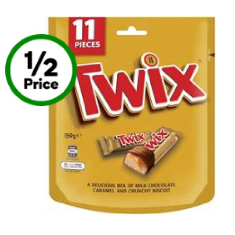 Twix Minis Fun Size Share Pack 11 Pack