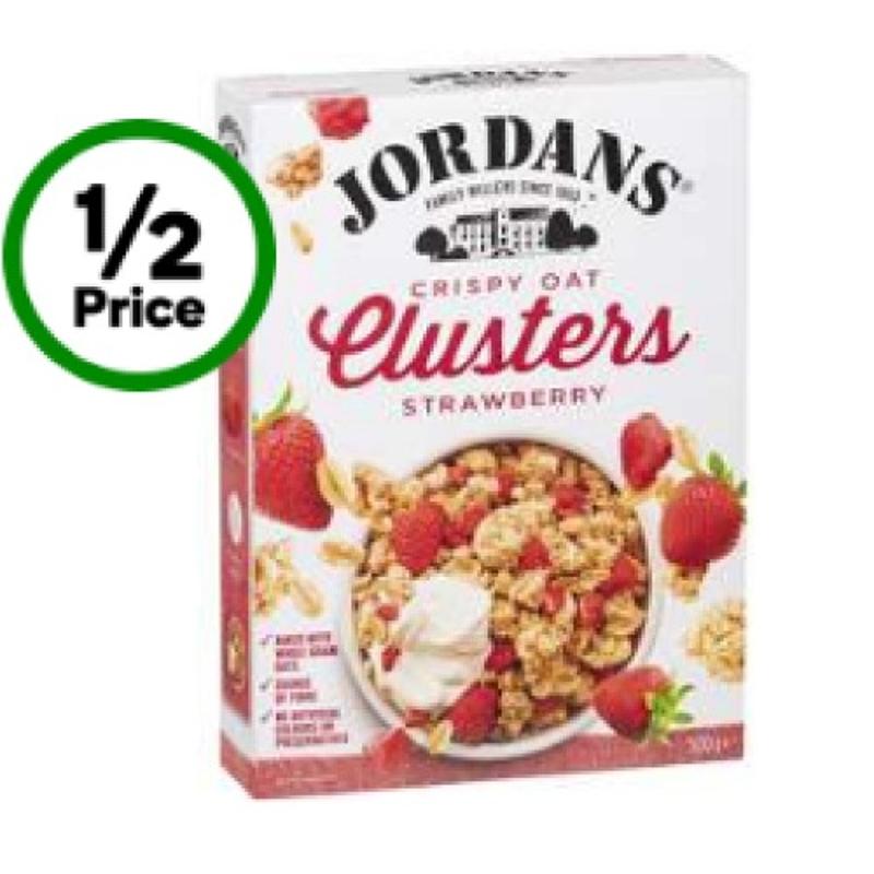 Jordans Strawberry Crispy Oat Clusters 500g