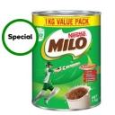 Nestle Milo Choc-malt 1kg $10. 00 Was $12.50 $1.00 / 100G