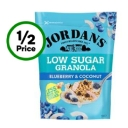 Jordans Low Sugar Granola Blueberry & Coconut 500g