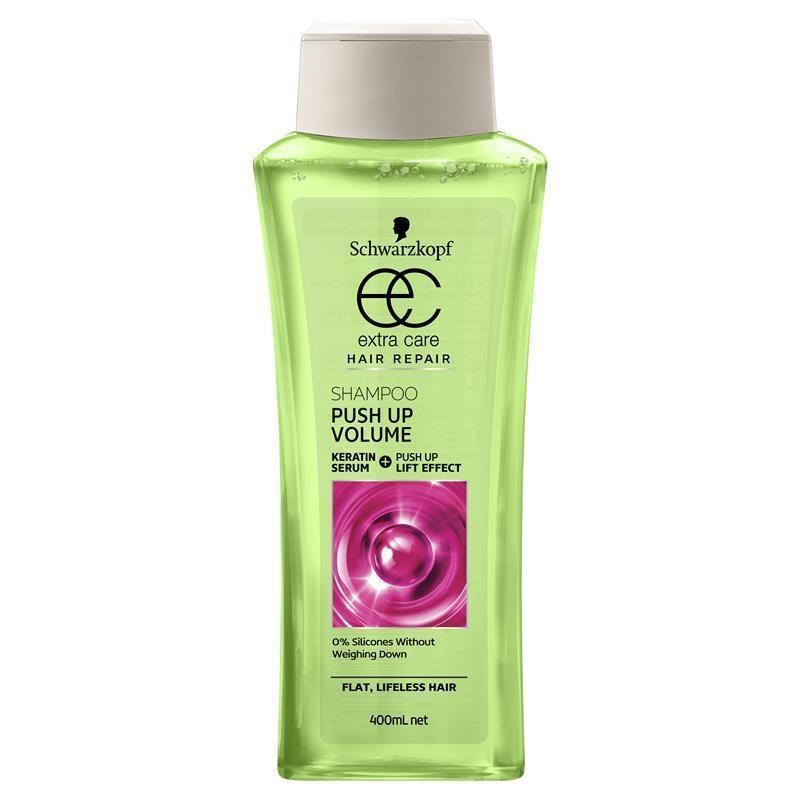 Schwarzkopf Extra Care Push Up Volume Shampoo 400ml