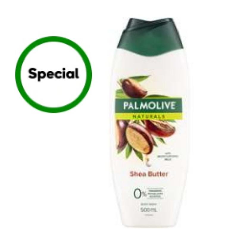 Palmolive Naturals Body Wash Shea Butter Shower Gel 500ml