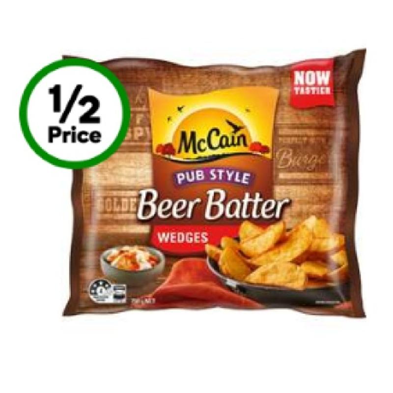 Mccain Beer Batter Wedges 750g