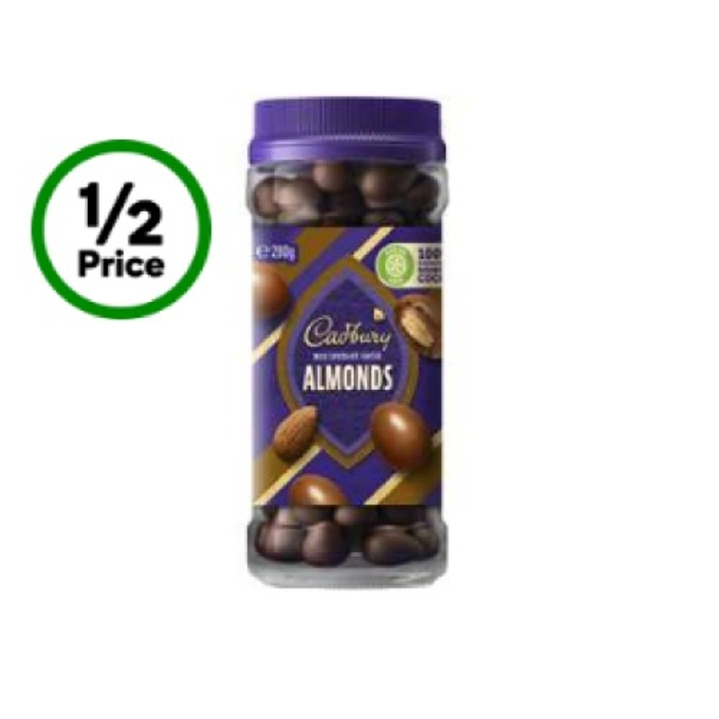 Cadbury Chocolate Coated Almonds 280g