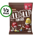 M&m's Medium Sharepack 11 Mini Bags 148g