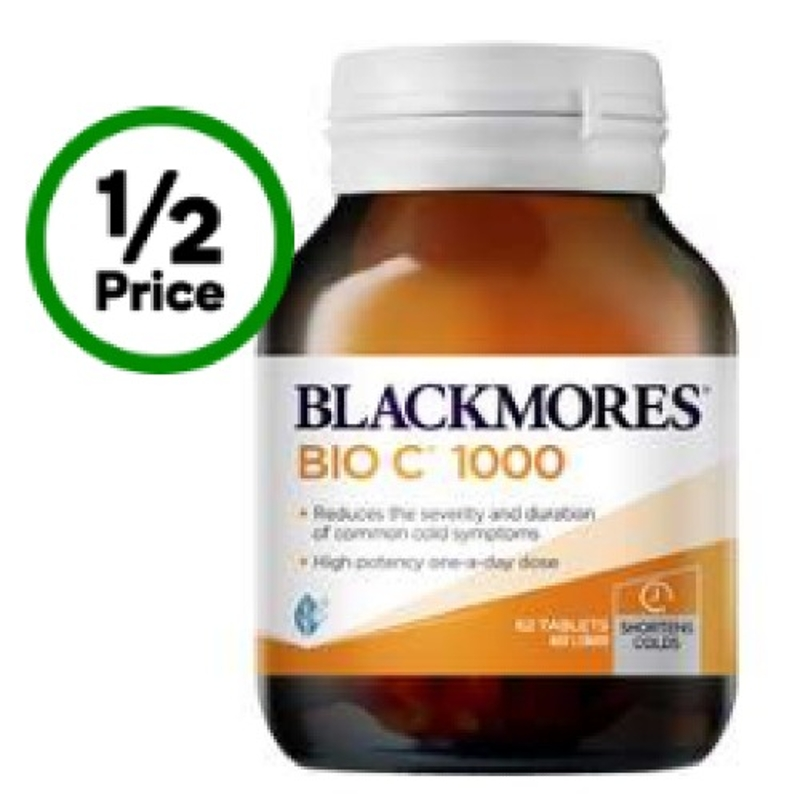 Blackmores Bio C Tablets 1000mg 62 Pack