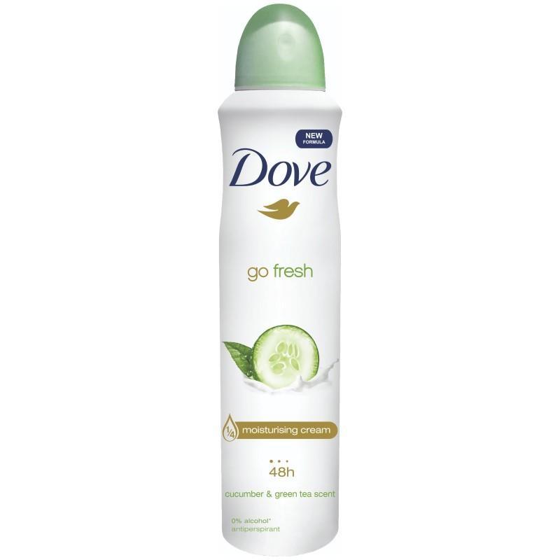 Dove Antiperspirant Deodorant Go Fresh Cucumber 250ml