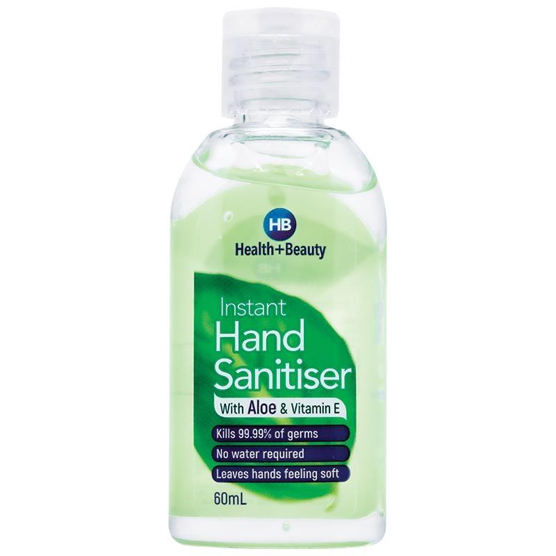 Health & Beauty Hand Sanitiser 60mL Limited Edition
