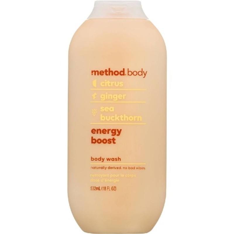 Method Body Wash Energy Boost 532ml