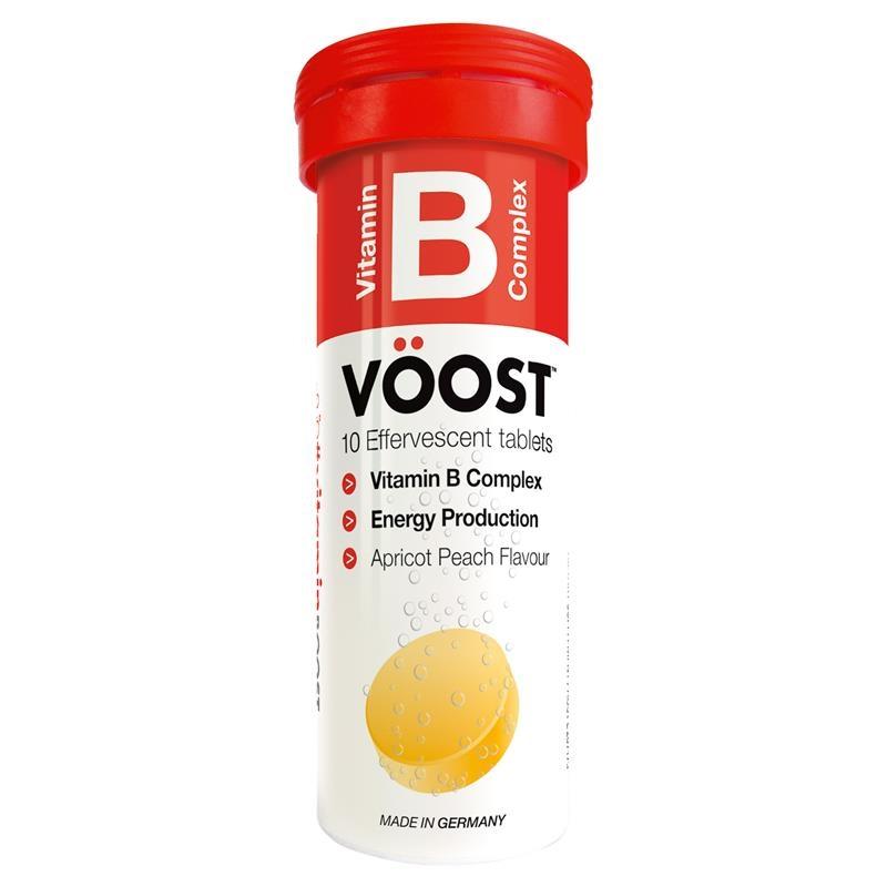 VOOST Vitamin B Effervescent 10 Tablets