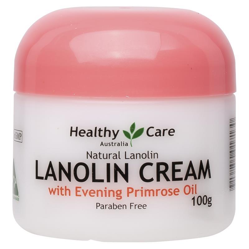 Healthy Care Lanolin Cream With Evening Primrose Oil 100g