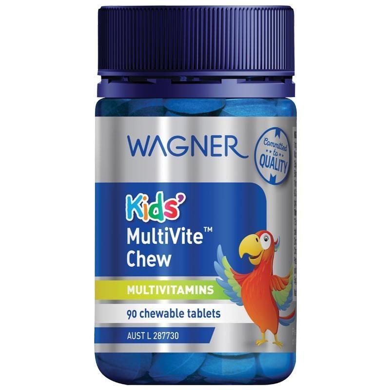 Wagner Kids Multivite Chew 90 Tablets